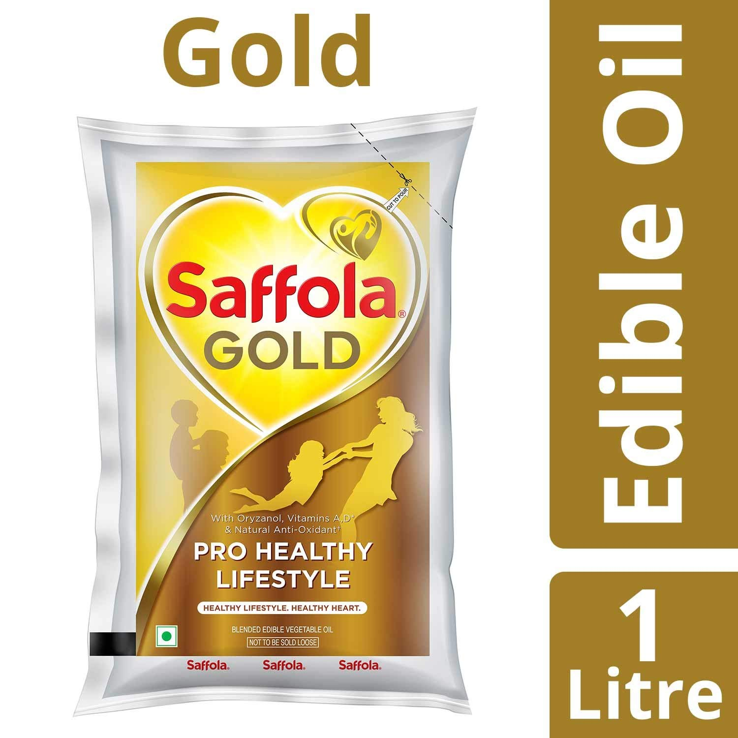 saffola gold oil (1-litre)