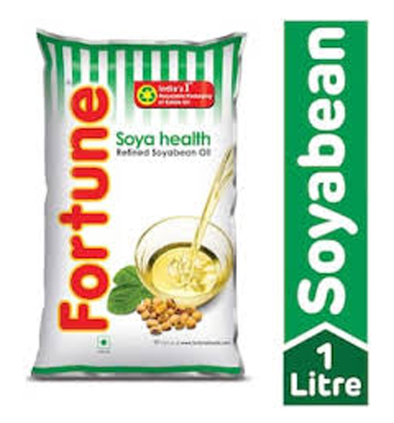 fortune soyabean oil (1-Litre) FREE HOLD