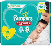 diaper  (pampers) pants 20.pcs